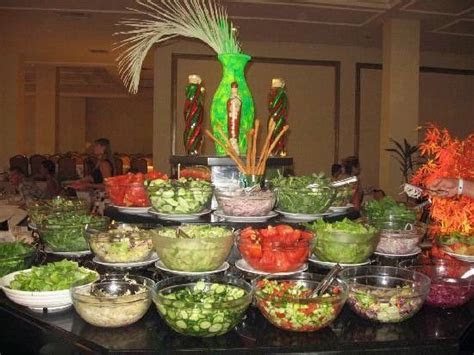 SALAD BAR! for weddings, parties, etc. Absolutely perfect