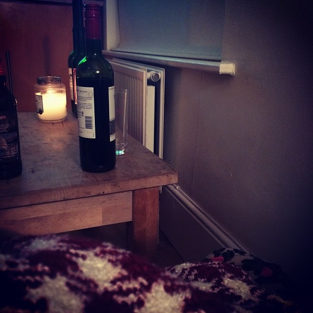 Wine. Rugby. Slippers. Throw. #sorted