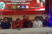Pakai Sarung, Gus Yasin Dampingi Ganjar Daftar di KPU Jateng