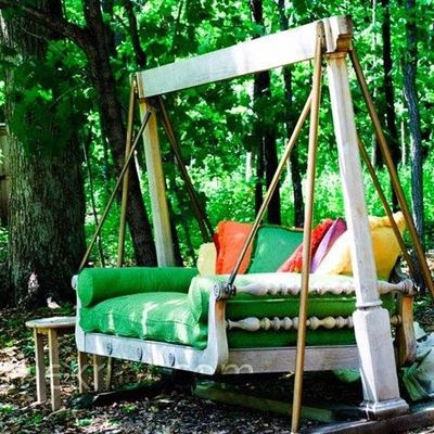I need a swing like this to refresh my spirit!