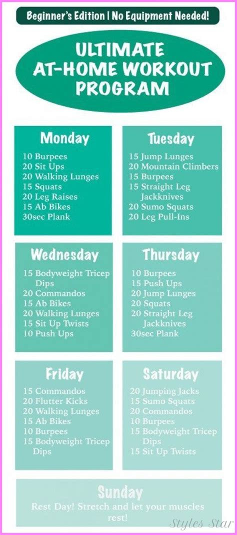 beginners exercise routine  weight loss  home