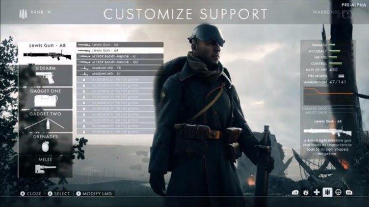 Resultado de imagem para battlefield 1 multiplayer screen
