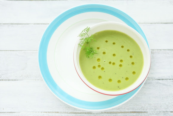 Soup with few ingredients, but with lots of love.