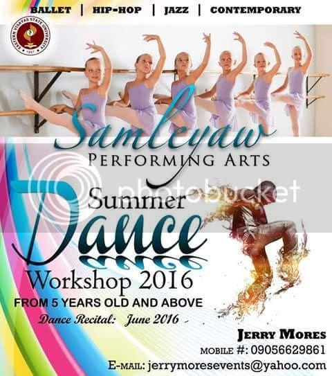 EVSU Samleyaw Ballet Class