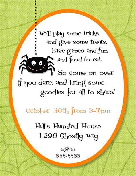 Halloween Party Quotes Invitations ? WeNeedFun
