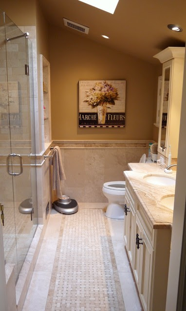 French Country Master Suite Renovation - Traditional ...