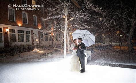 A snowy night at The Hotel Northampton ( wedding photos