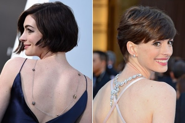 Anne Hathaway Backwards Necklace