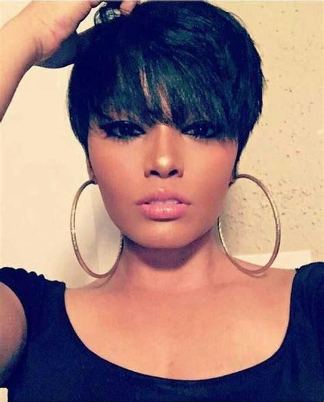 short pixie haircuts  african american girls cruckers