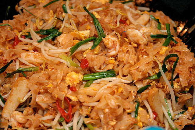 Homecooked Pad Thai