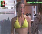 Margarida Vila Nova sensual nas novelas Mar Salgado e Paixao