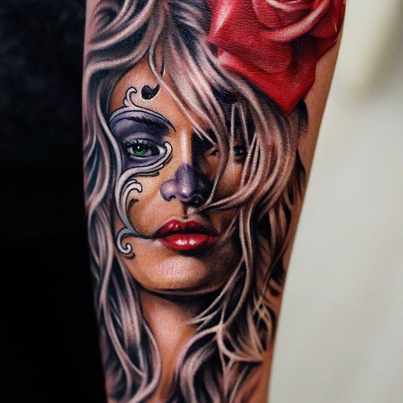 Tatuajes De Realismo Parte Iii Steel Of Doom