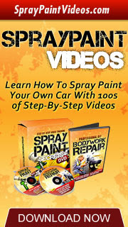Spray Paint Secrets Video Banner