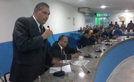 Jamil Ocké está preso acusado de fraude milionária no município (Foto: Reprodução)