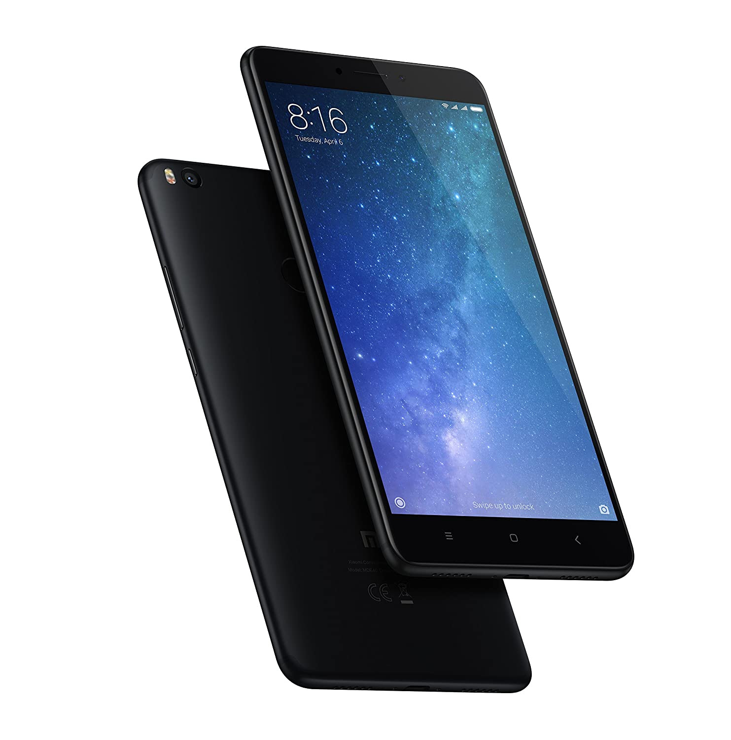Latest Mi Max 2 (Black, 64 GB)