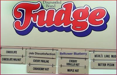 Fudge Menu