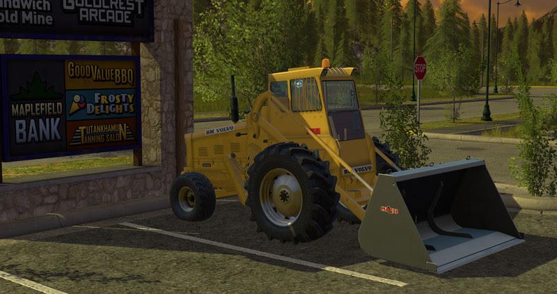 Volvo Lm 218 Wheel Loader V 1 17 Fs17 Farming Simulator