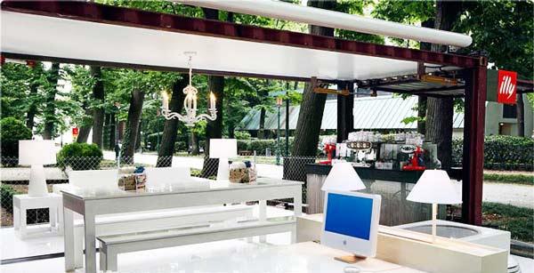 perierga.gr - Καφετέρια με το πάτημα ενός κουμπιού!