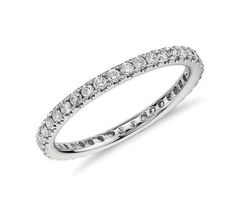 Riviera Pavé Diamond Eternity Ring in Platinum (1/2 ct. tw