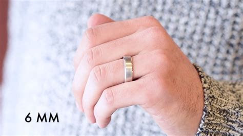 Men's Wedding Bands   Which Width Is Right For You?   YouTube