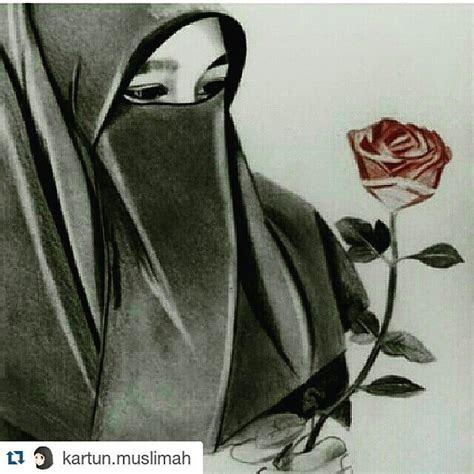 gambar gambar dp bbm muslimah berhijab terbaru kata humor