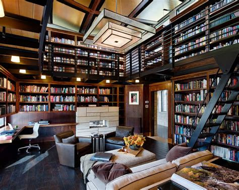 creating  home library design  ensure relaxing space