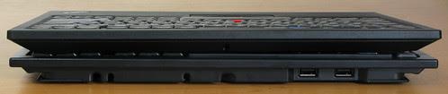 ThinkPad USB Keyboard: Back view