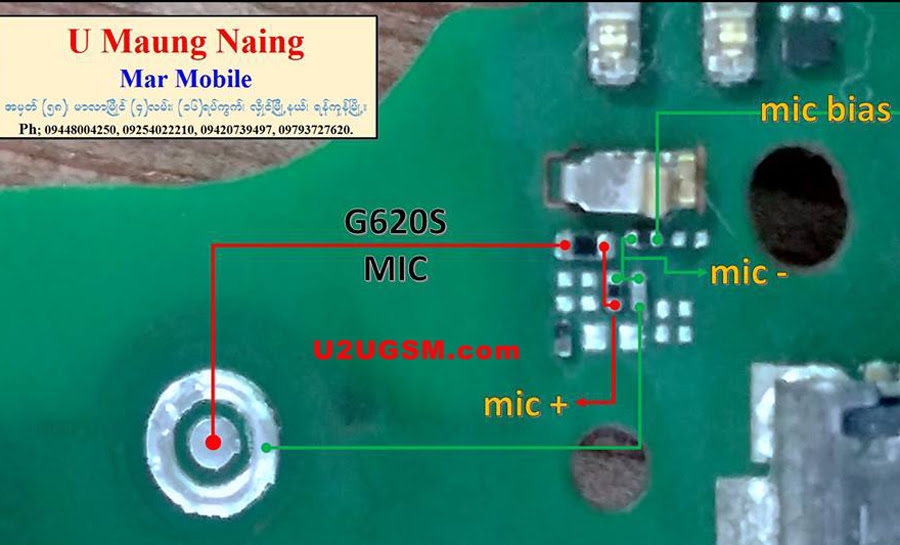 Huawei Ascend G620S Mic Problem Solution Microphone Not Working  Jumpers Ways