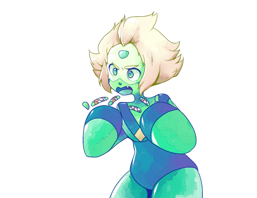 iii was really tired last night and confused peridot's fingers with finger traps ok im sorry
