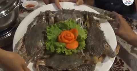 Phát thèm với món lẩu ghẹ nấu dưa leo, nước dừa thơm nức mũi