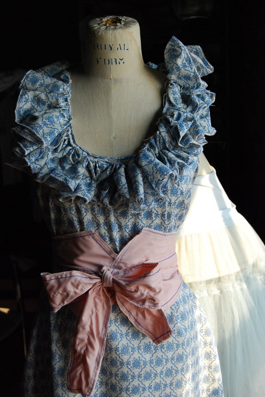 Raphaelite Circus Dress/Belt