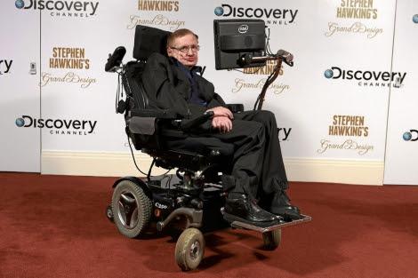 El astrofísico británico Stephen Hawking. | Discovery Channel