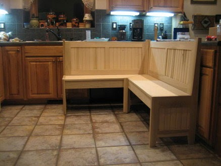 Country Kitchen Islands Table Bench
