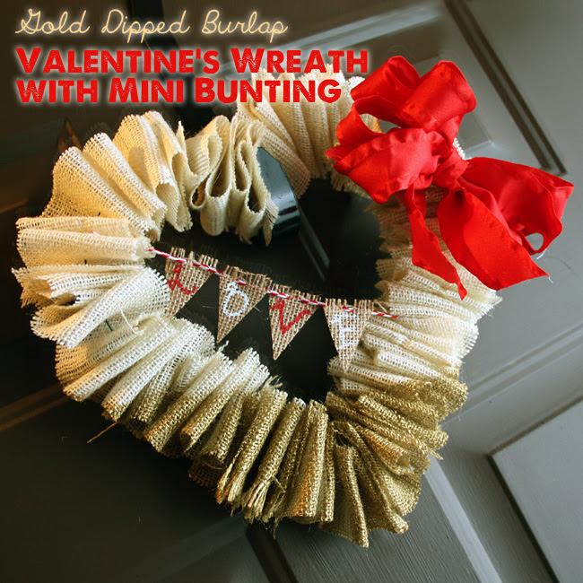 5 Beautiful DIY Valentine's Wreaths to make