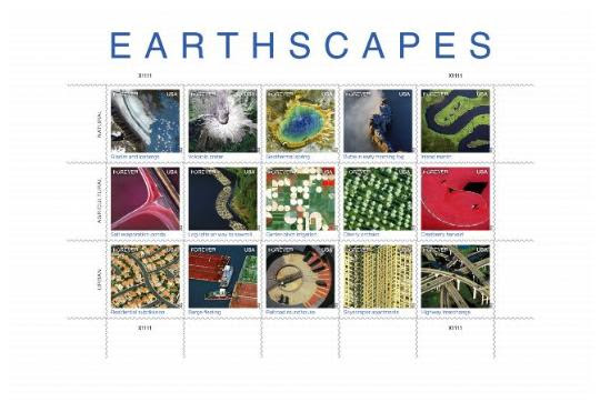 EARTHSCAPES stamp