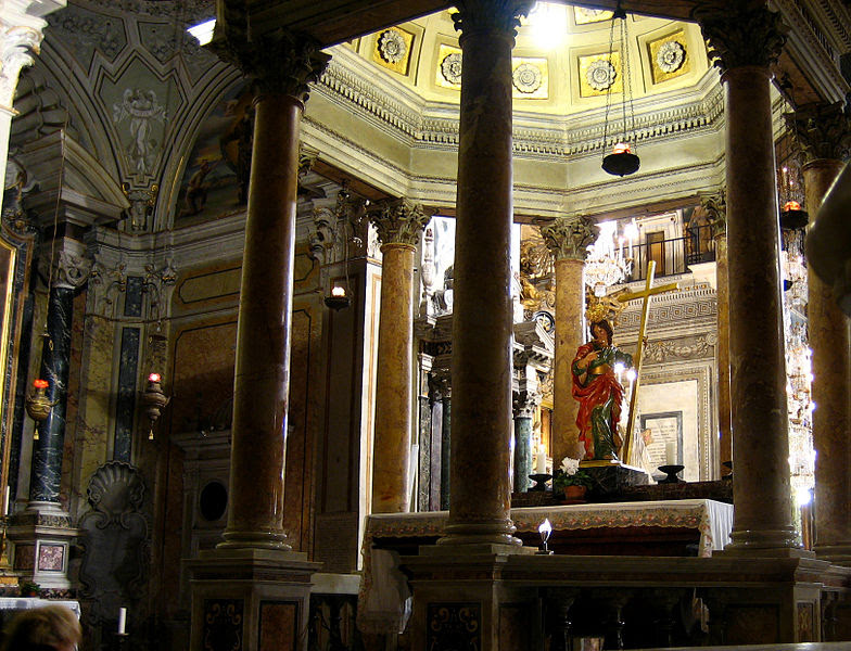 File:Santa Maria in Aracoeli shrine.jpg