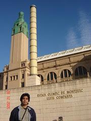 Stadium Olympic kat Montjuic, Barcelona, Spain