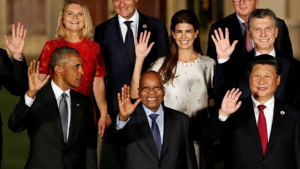 Resultado de imagen para macri y el G20,