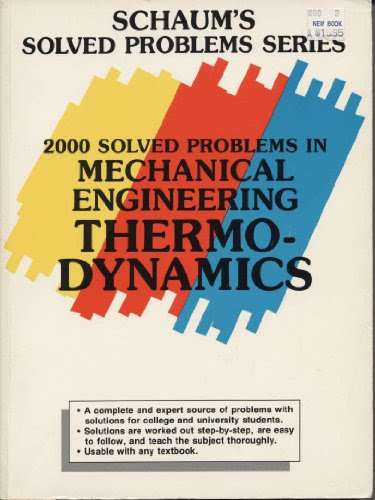 2000 Solved Problems in Mechanical Engineering Thermodynamics (Schaum's Solved Problems Series)