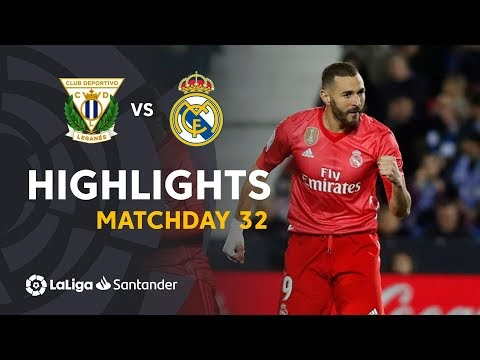 Leganes 1-1 Real Madrid