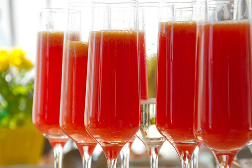 Veriapelsini-mimosa / Blood orange Mimosa