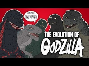 The Evolution of Godzilla - throughout the years