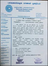 Jusu statement 18 May