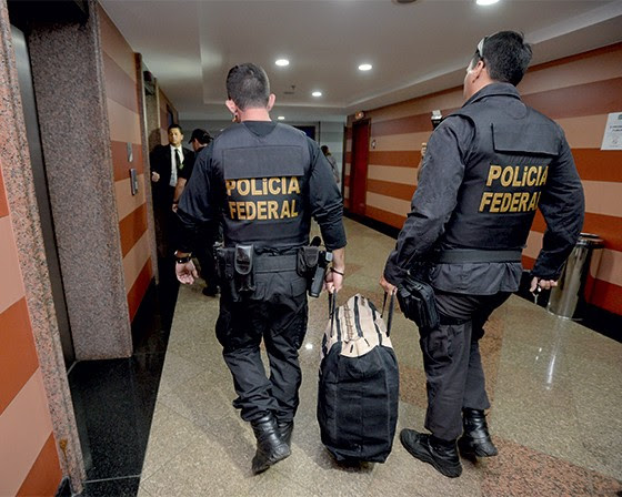 CASO DE PROCON 1 | A Polícia Federal faz busca na Pepper durante a Operação Acrônimo   (Foto: Marcelo Ferreira/CB/D.A Press)