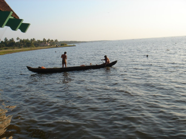 Fishermen in the Vembanad Lake