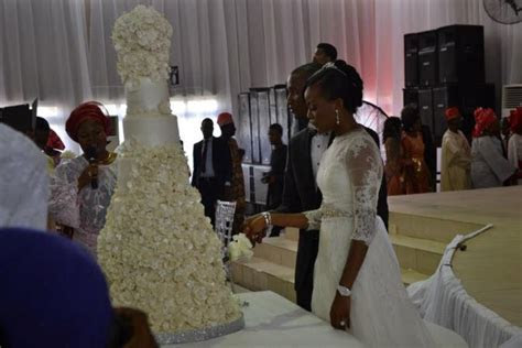 10 most beautiful cakes at Nigerian celebrities Wedding