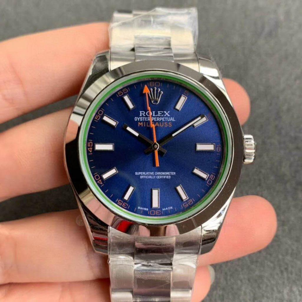 Noob Factory Rolex Milgauss Blue