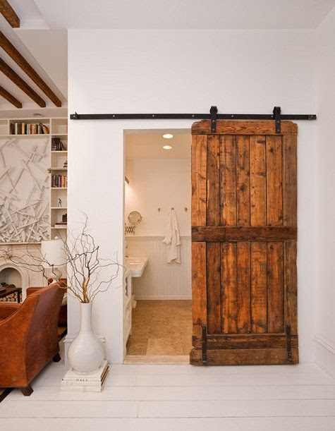 sliding bard doors for closets, bathrooms etc.