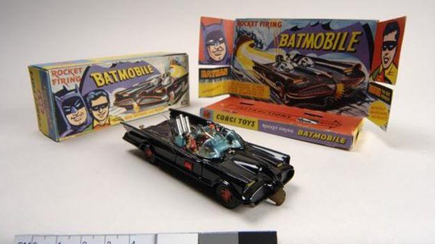 Batmobile model car