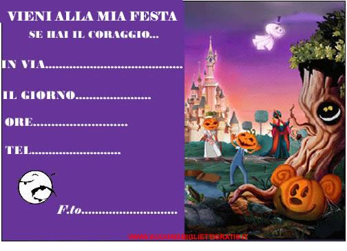 inviti festa di halloween